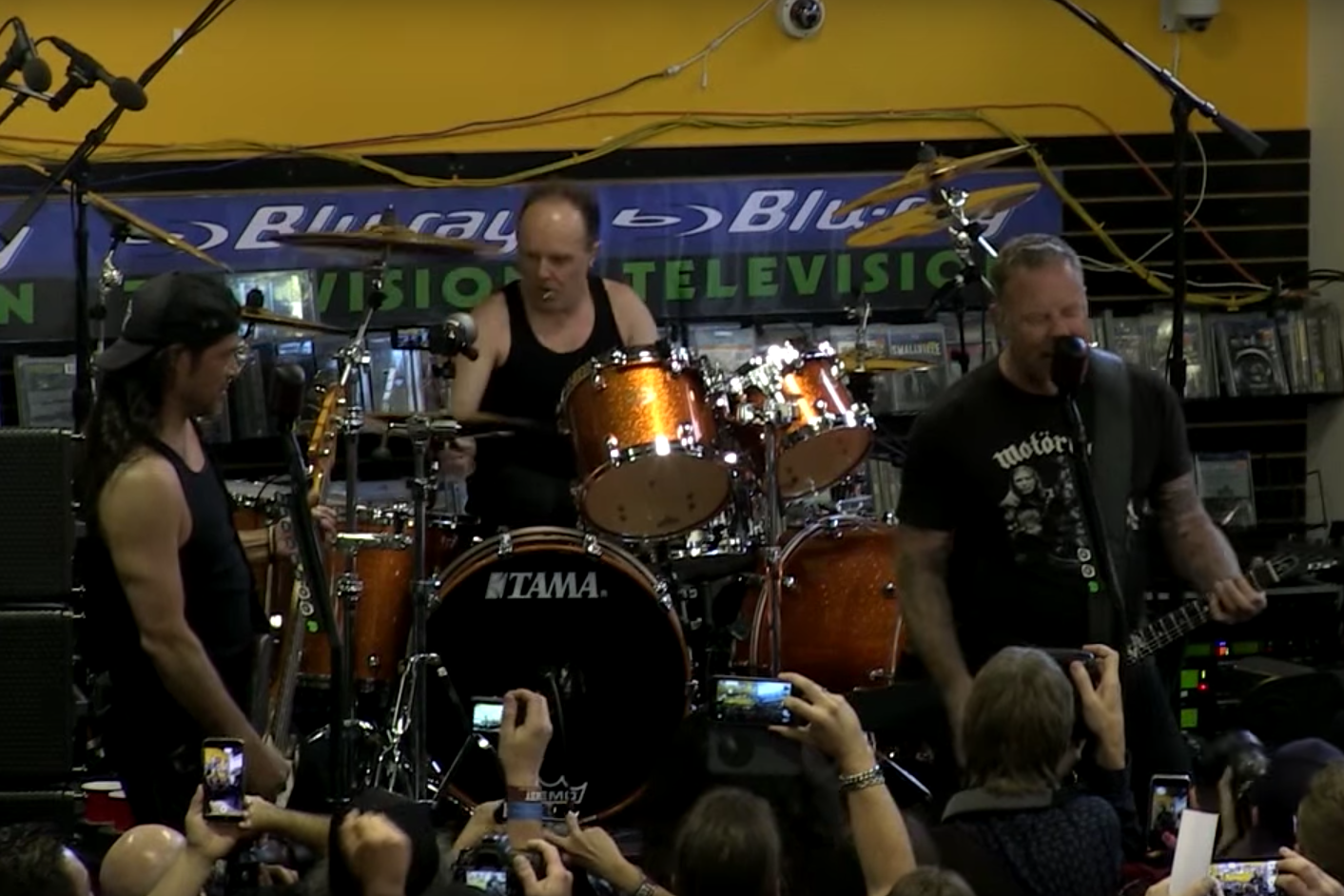 metallica record store day full show performance video watch