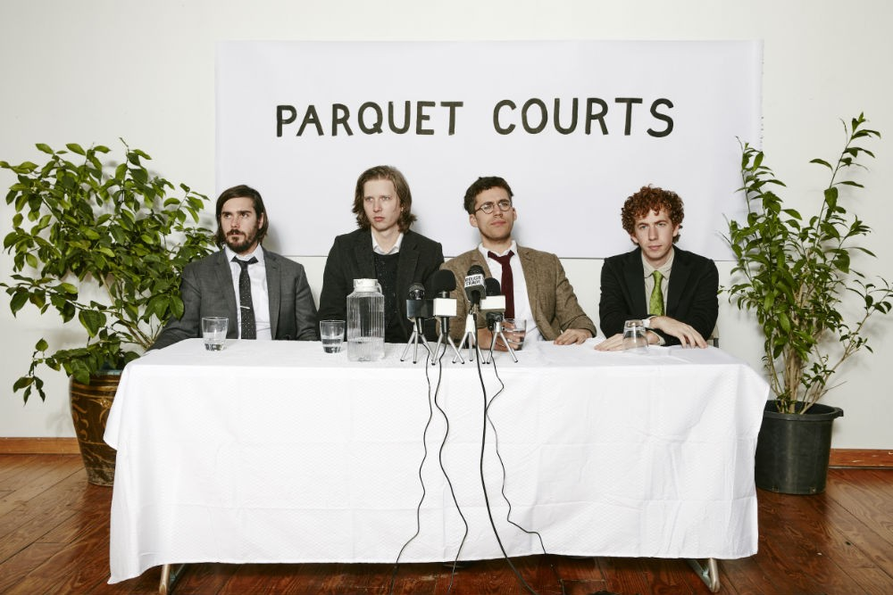 parquet courts, human performance, interview