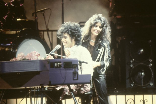 prince apollonia In purple rain and