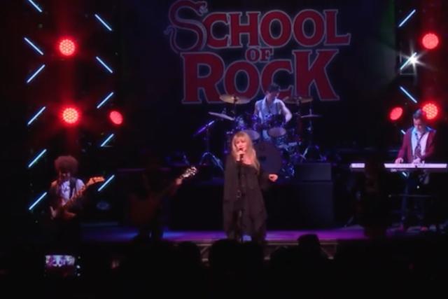 stevie nicks school of rock rihannon performance watch