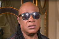 Stevie Wonder Chokes Up Talking About Prince on CNN