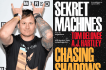 tom delonge chasing shadows ufo book interview