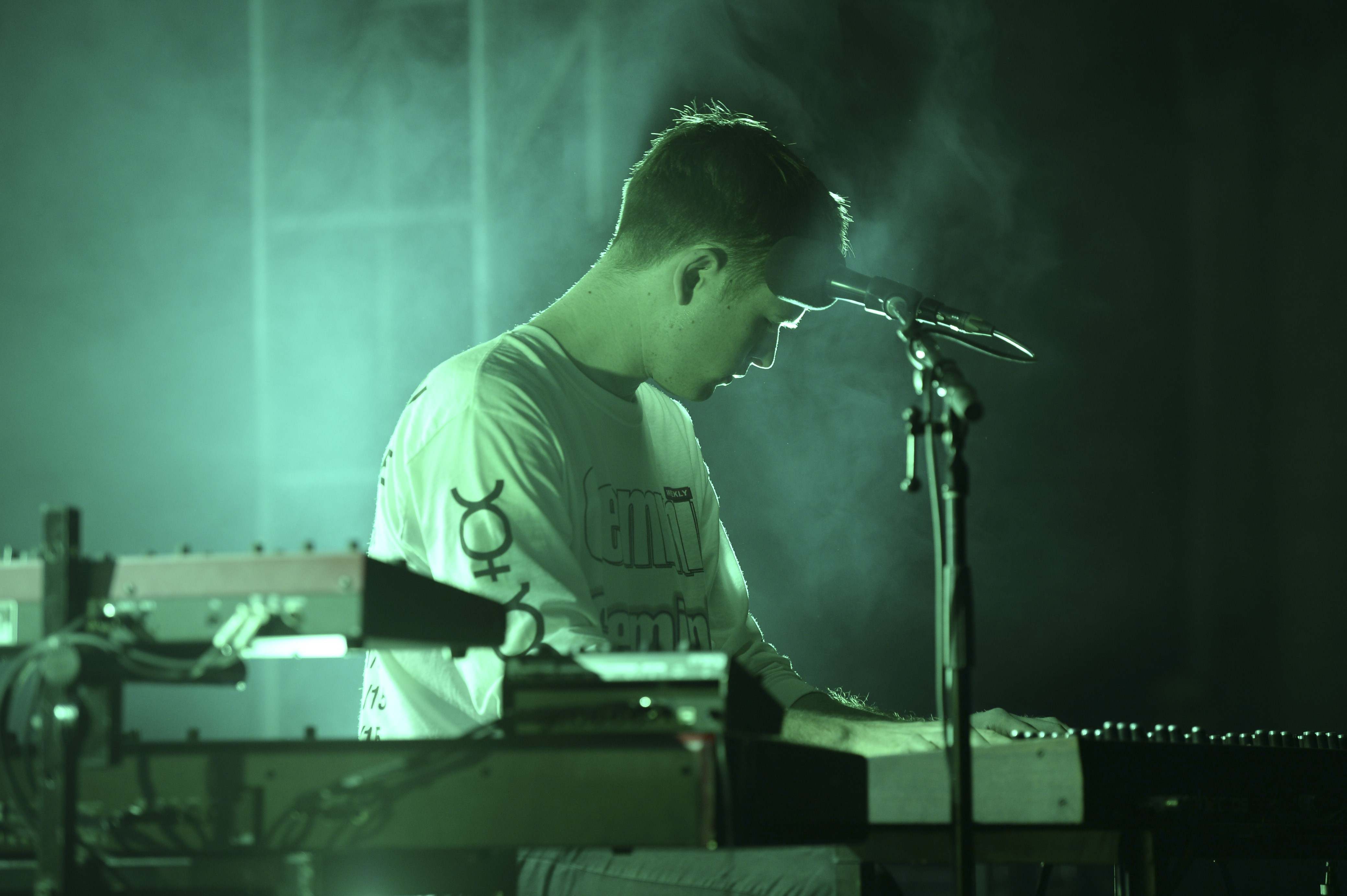 James Blake On The YoungArts Campus