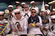 The Lonely Island Performed 'I'm On a Boat' With Toy Instruments on 'Fallon'