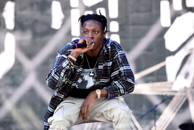 Joey Bada$$ at 2016 Coachella Valley Music And Arts Festival - Weekend 2 - Day 1