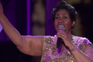 Aretha Franklin Performs 'Purple Rain' at the White House