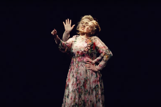 Adele debuts kaleidoscopic video for send my love to your new