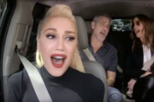 gwen stefani james corden carpool karaoke george clooney julia roberts late late show video watch