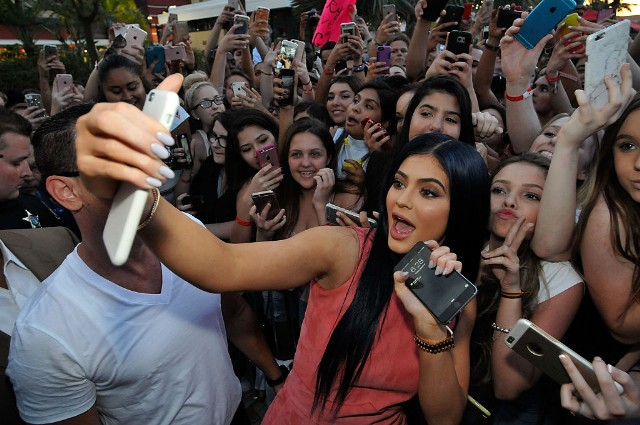 Kylie Jenner Hosts Grand Opening Of Sugar Factory American Brasserie Orlando At I-Drive 360