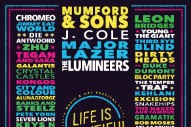 Life Is Beautiful Festival 2016 Lineup: J. Cole, Jane's Addiction, Major Lazer, and More