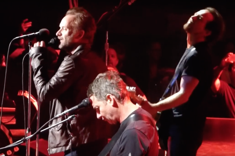 pearl-jam-cheap-trick-driven-to-tears-sting-surrender-video-watch