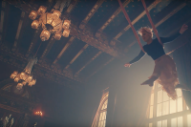Pink Spins Through the Air, Visits Wonderland in 'Just Like Fire' Video