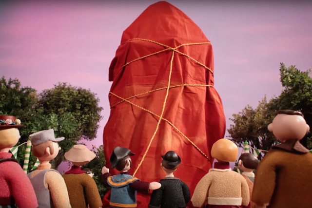 radiohead burn the witch new album single stop motion video watch.