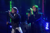 Tegan and Sara Play It Cool With the Live 'Boyfriend' Debut on 'Fallon'