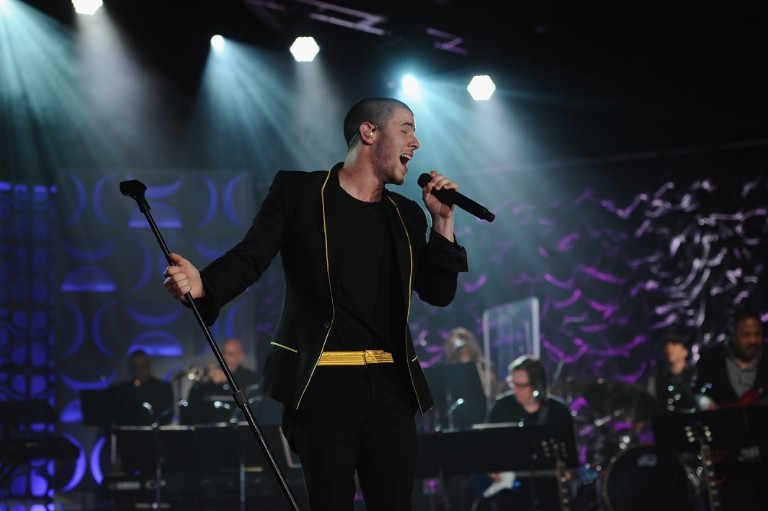 Nick Jonas at the Songwriters Hall Of Fame 47th Annual Induction And Awards - Show