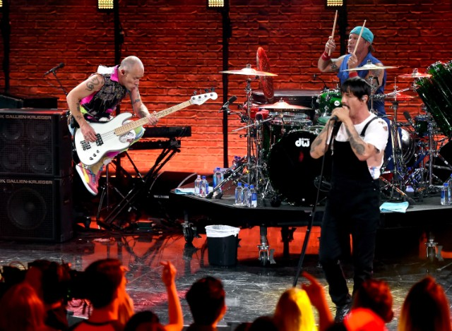 Red Hot Chili Peppers at iHeartRadio Album Release Party On AT&T LIVE