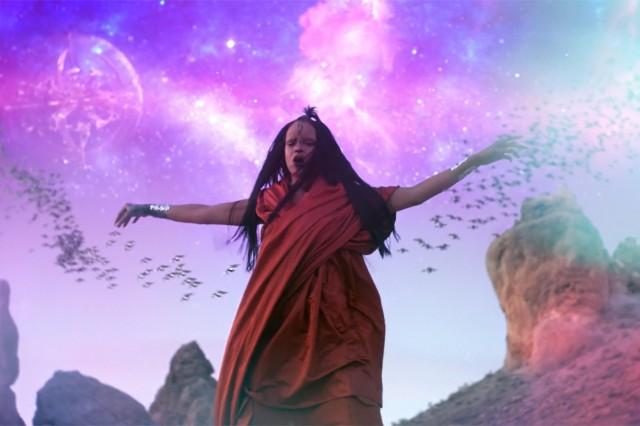 "Rihanna's ""Sledgehammer"" video"
