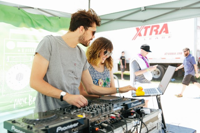 Oh Wonder, Shower Out Loud DJ Session
