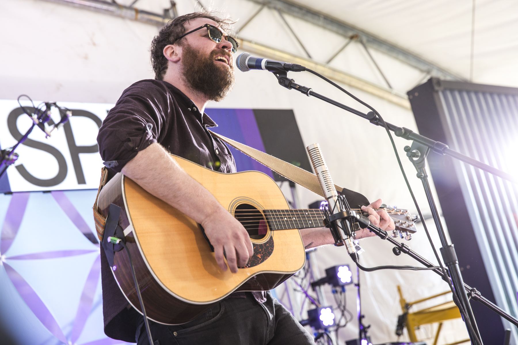 "Watch Frightened Rabbit's Scott Hutchison Perform ""Get Out"" at Sasquatch!"