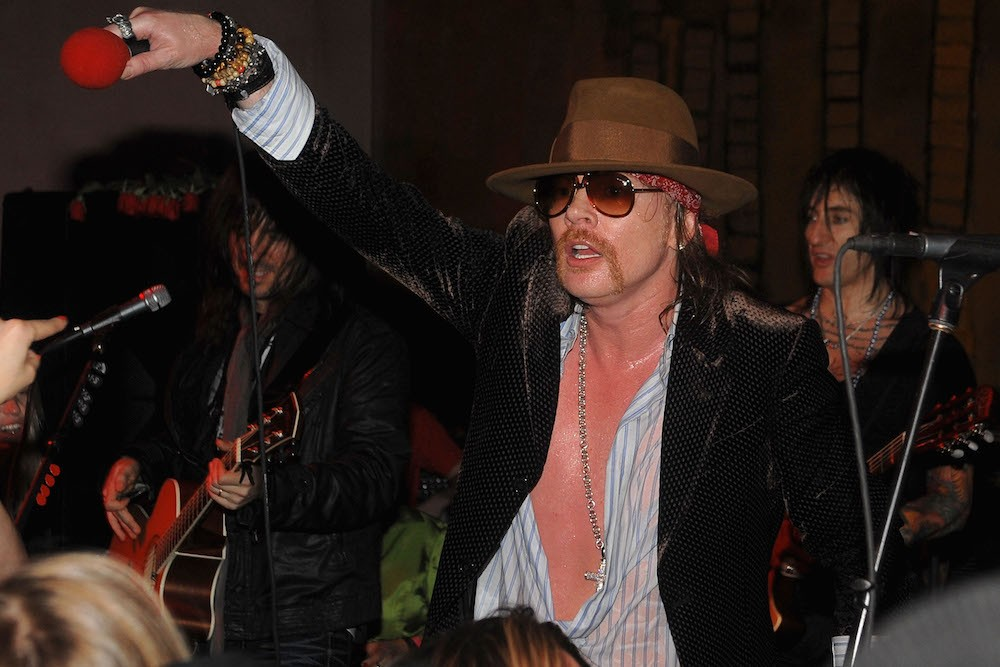 Axl Rose Is Not Enjoying Those Fat Axl Memes | SPIN