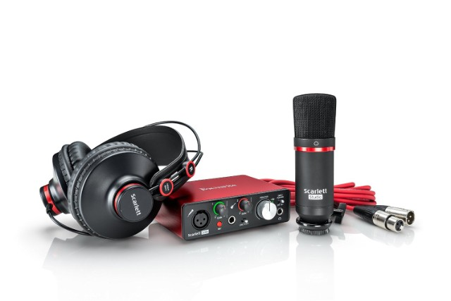 Set-Up Your Own Home Recording Studio for Only $200 with These Great Deals from Amazon