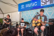 "Watch the Wombats Perform ""Give Me a Try"" at Firefly 2016"