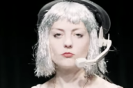 Angel Olsen Plays a Silver-Wigged 'Intern' in New Video