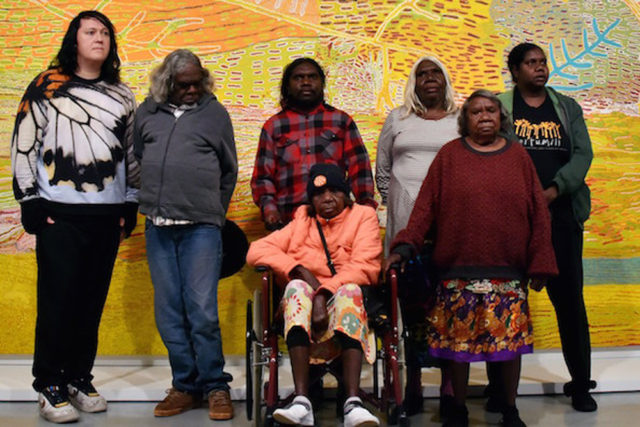 AUSTRALIA-MINING-ENTERTAINMENT-INDIGENOUS-ART-MUSEUM