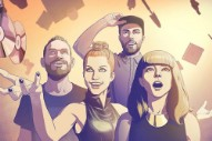 CHVRCHES Bring Paramore's Hayley Williams on 'Bury It'