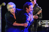 Eddie Vedder Performed With the Who at a Charity Benefit Last Night