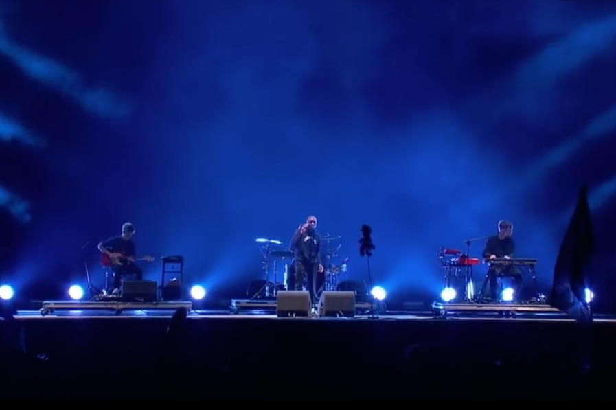 james blake glastonbury justin vernon vince staples i need a forest fire timeless video watch