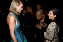 Kanye West Kim Kardashian Taylor Swift