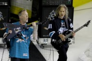 Watch Metallica Do a Hardcore Rendition of 'The Star-Spangled Banner' at the Stanley Cup Finals