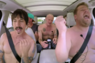 James Corden and Red Hot Chili Peppers Play Some 'Carpool Karaoke'