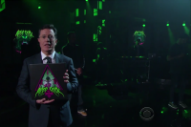 Aesop Rock Performs on 'The Late Show' With Yo La Tengo