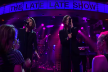 tegan and sara boyfriend late late show with james corden video watch