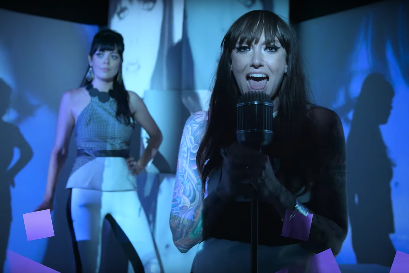 the coathangers down down video watch