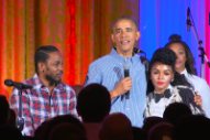 Kendrick Lamar and Janelle Monáe Help President Obama Wish Daughter Malia a Happy Birthday