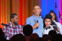 Kendrick Lamar, Janelle Monáe, President Obama