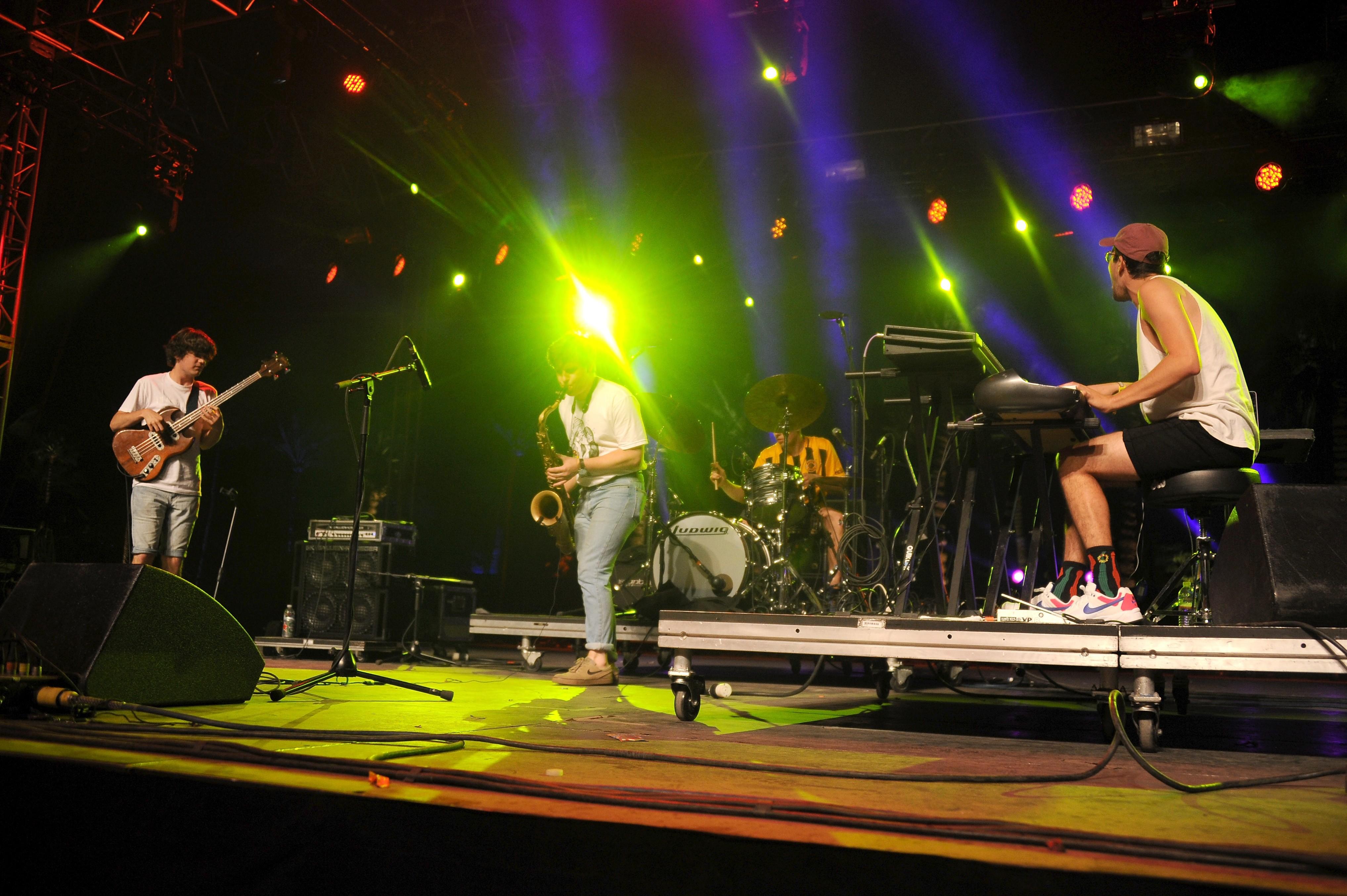 BADBADNOTGOOD at 2016 Coachella Valley Music And Arts Festival - Weekend 2 - Day 2