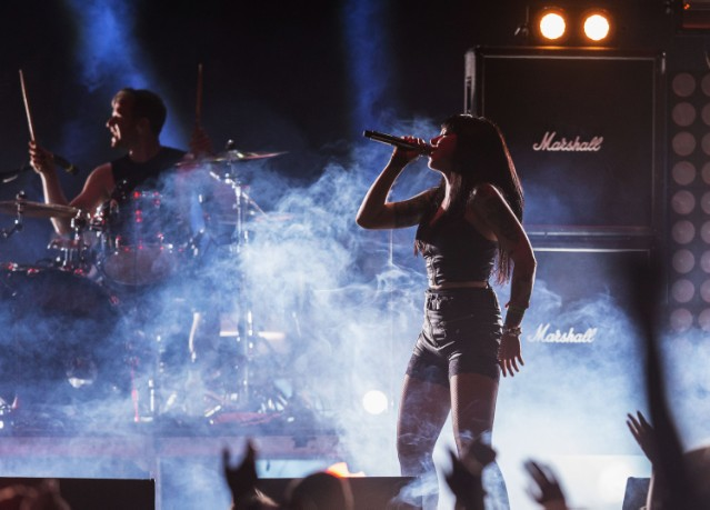 Sleigh Bells at 2014 Coachella Valley Music and Arts Festival - Weekend 2 - Day 2