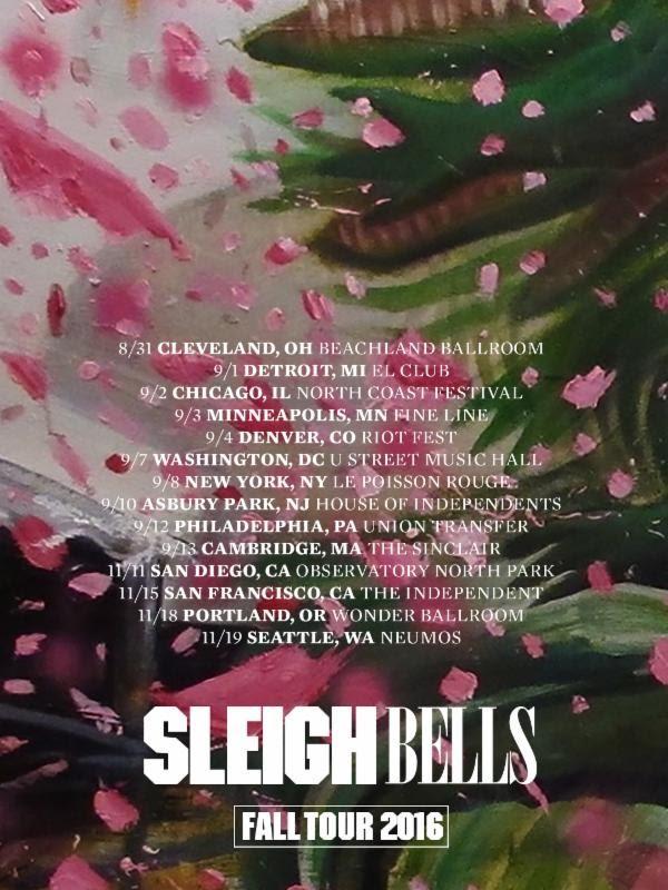 Sleigh Bells tour dates