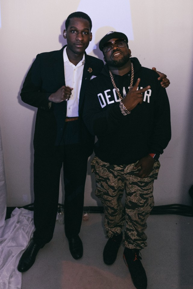 Leon Bridges and Big Boi