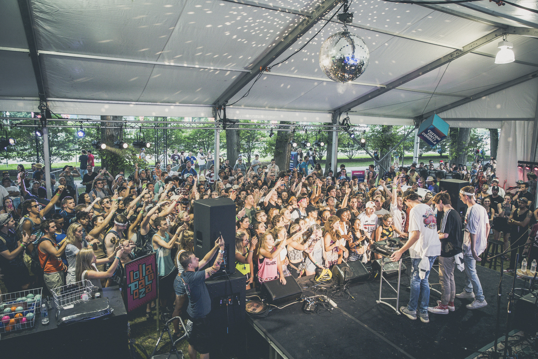 SPIN at Lollapalooza 2016: Day 2 at Toyota Music Den with Frank Turner, Louis the Child, and More