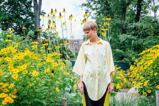 Jenny Hval for SPIN, 07/10/16