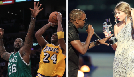 Why Taylor vs. Kanye Feels Like Kobe vs. Shaq
