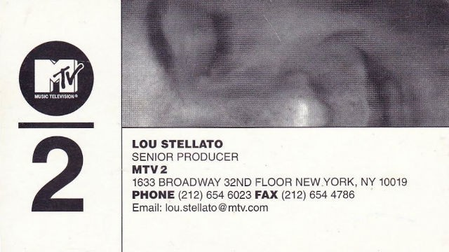 M2 - Lou Stellato Card