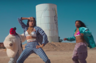 AlunaGeorge Spout Off at an Abandoned Waterpark in 'Mean What I Mean' Video