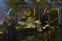 bleached wednesday night melody late night seth meyers video