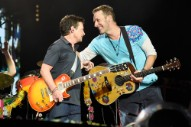 Watch Michael J. Fox and Coldplay Perform Songs From 'Back to the Future'